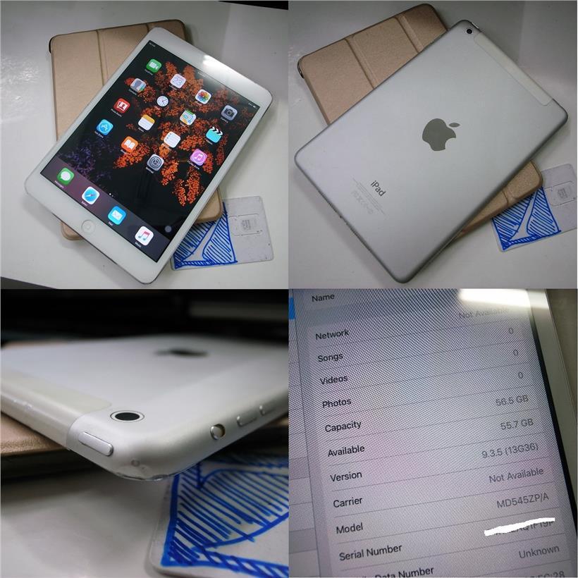Apple IPad Mini 64GB WiFi 4G SIM Cellular 7 9 Rm580
