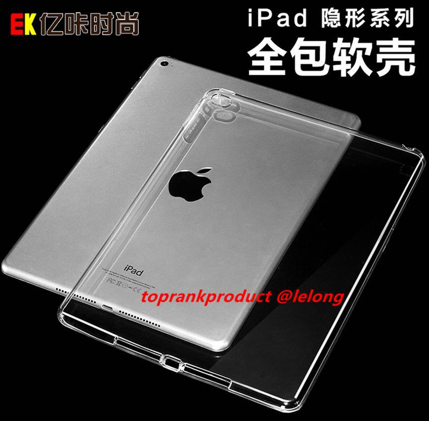 Apple iPad Pro 9.7 12.9 Ultra Thin Transparent Case Cover Casing