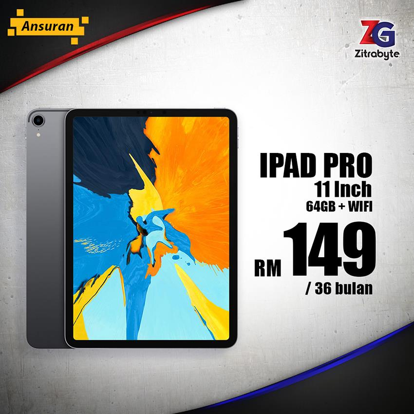 Apple Ipad Pro (Wifi) / Bulanan RM149