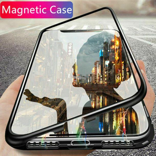 APPLE IPhone 11 Pro / 11 Pro MAX LUXURY MAGNETIC METAL CASE Cover