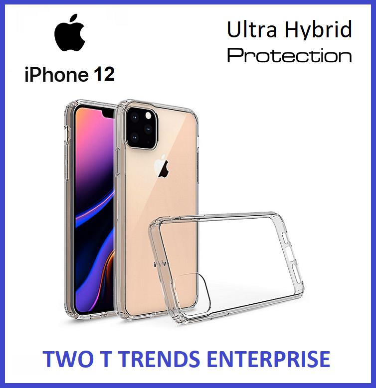 Apple iPhone 12 / 12 Mini / 12 Pro / 12 Pro Max Air Hybrid Case Cover