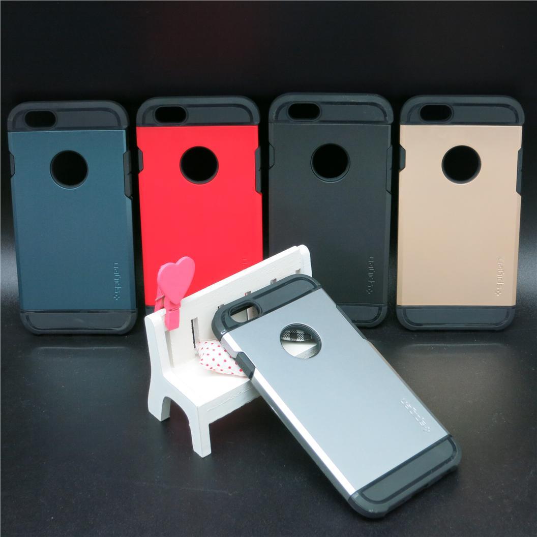 uk availability 561a3 e8bc6 Apple iPhone 4 4s 5 5s 6 6s Plus Spigen Tough Armor Case
