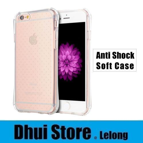 official photos ce094 62e04 Apple iPhone 4 4S 5 5S SE Air Cushion Anti Shock Transparent Soft Case