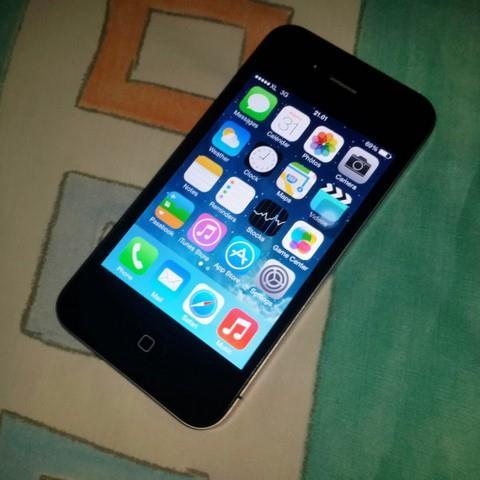 Iphone 5s Black Used Apple 4s 8gb Secondhand Full Box Good