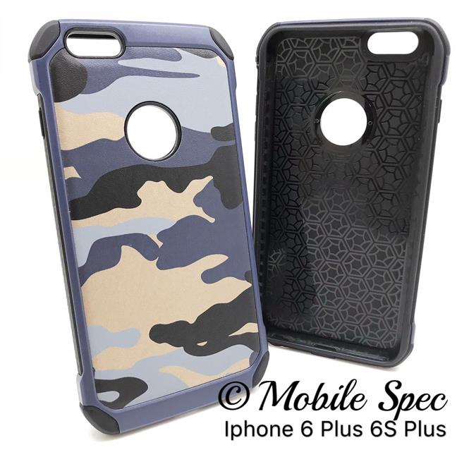 best sneakers 08c47 81289 APPLE IPHONE 5 5S 6 6S 7 PLUS MILITARY CAMOUFLAGE ARMY BACK CASE