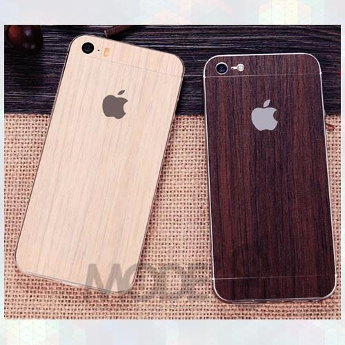 Apple Iphone 55s Wood Print Phone Skinfone Sticker Not Case Cover