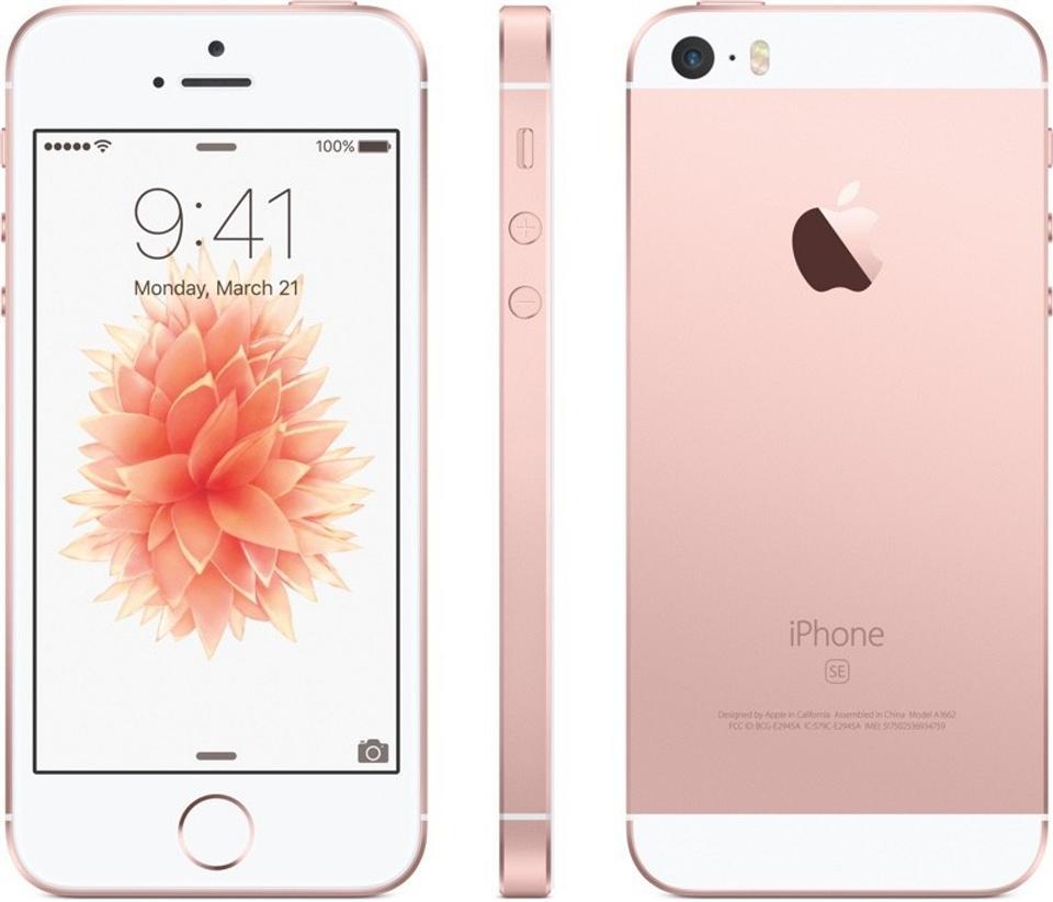 Iphone se rose gold 2017
