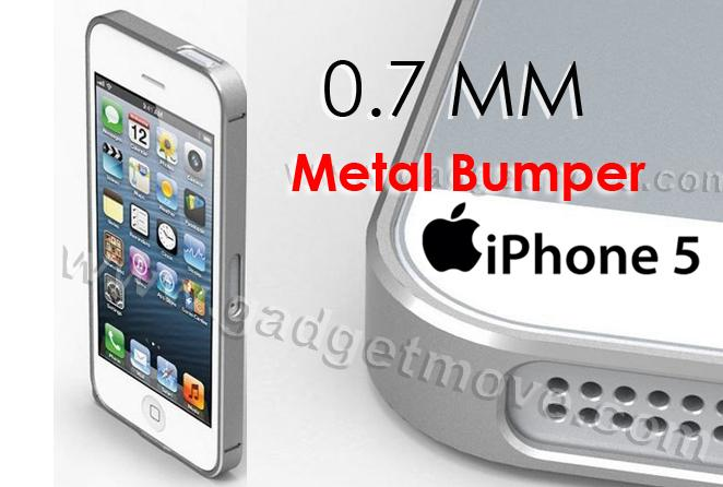 new concept 3b846 cccbc Apple IPhone 5 SE 5S 0.7mm thinnest Cross line aluminum metal bumper