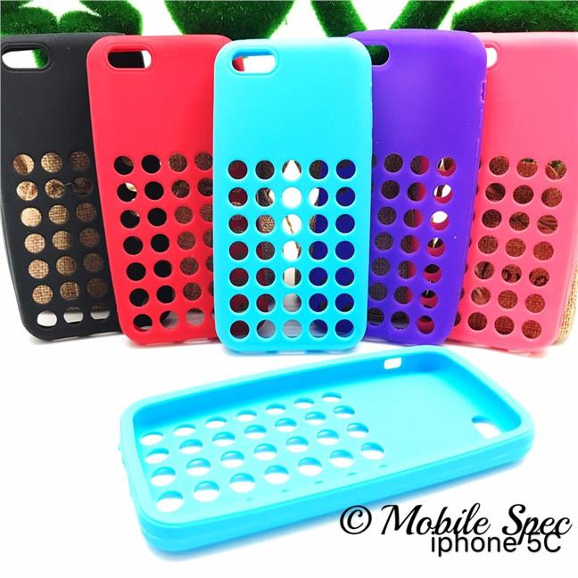 APPLE IPHONE 5C SOFT RUBBER SILICONE TPU BACK COVER CASE