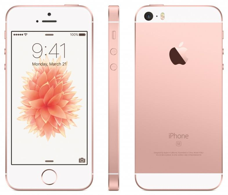 Apple iPhone 5s 16GB Rose Gold (Free Case, Tempered Glass)