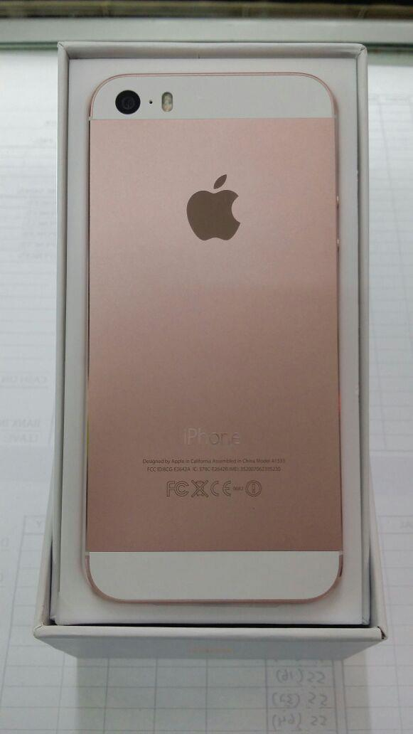 apple iphone 5s rose gold 100 ori n end 5 22 2016 4 15 pm. Black Bedroom Furniture Sets. Home Design Ideas