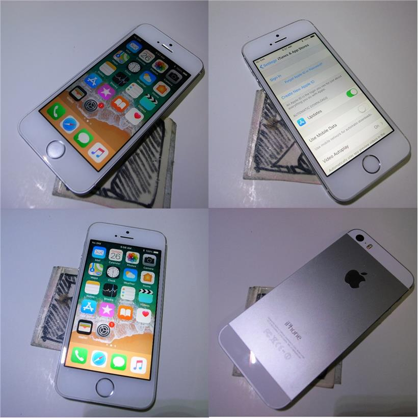 Ongebruikt Apple iPhone 5s Silver White 32GB 4 (end 11/29/2018 8:15 PM) JM-74