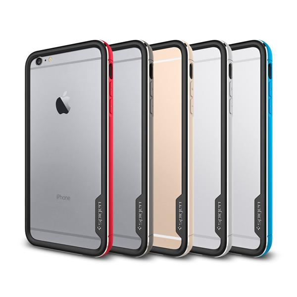 reputable site 13a0b e3063 Apple iPhone 6 / 6 PLUS Spigen SGP Neo Hybrid EX Metal Bumper