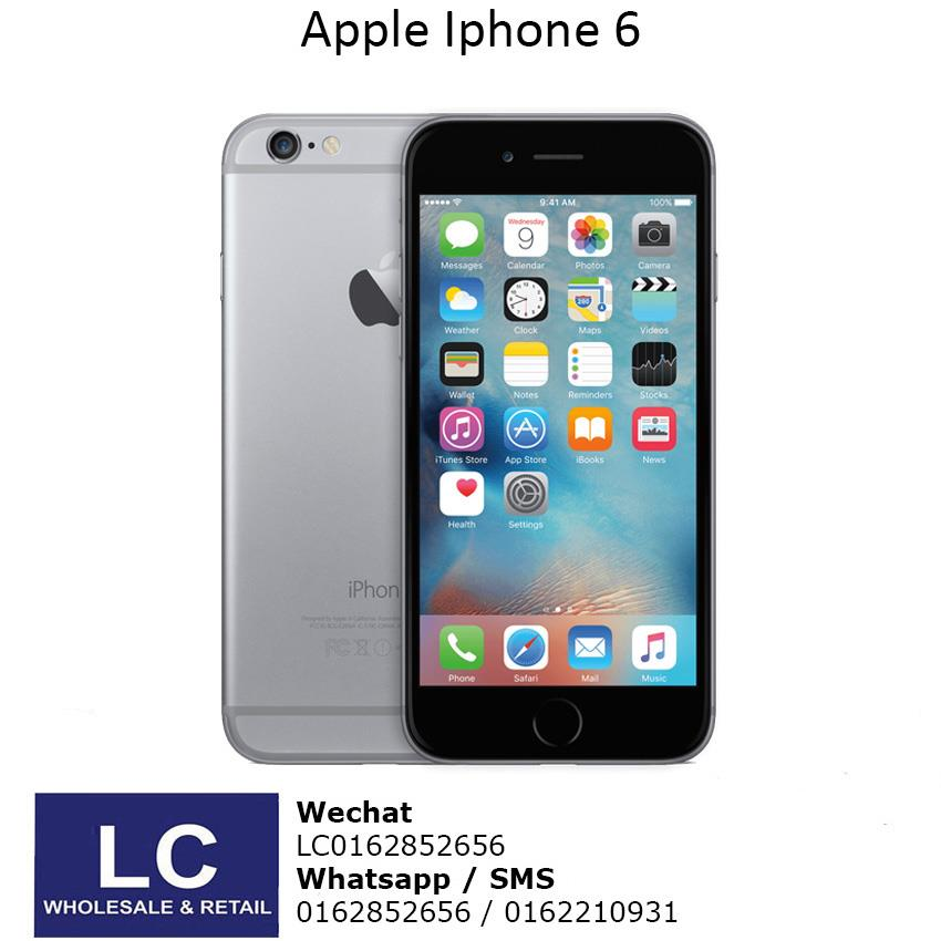 Apple iPhone 6 - 64GB Grey Original Import Set