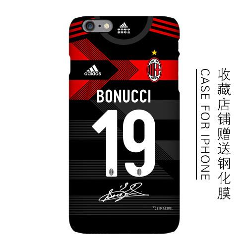 Apple iPhone 6/6s/6s+/6+ ac milan mobile protection casing case cover