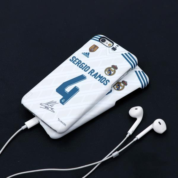 Apple iPhone 6/6s/6s+/6+ real madrid home phone protection casing
