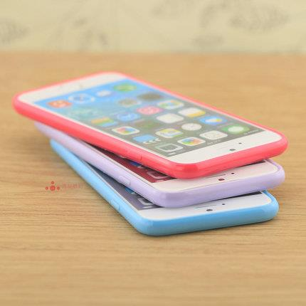 Apple iPhone 6/6s/6s+/6+ silicon mobile protection case cover frosted