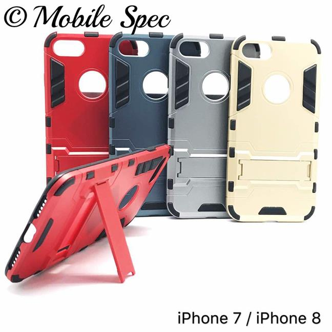 APPLE IPHONE 6 6S 7 8 PLUS IRONMAN BACK COVER STAND CASE