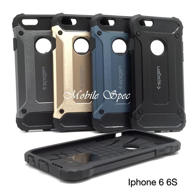 size 40 34438 a929d APPLE IPHONE 6 6S 7 8 PLUS SPIGEN TOUGH ARMOR TECH CUSHION CASE