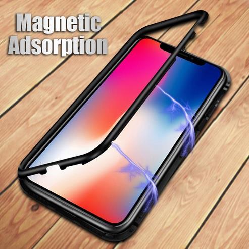 more photos 5e729 1a5c0 Apple iPhone 6 6s 7 8 Plus X 360 Magnetic Magnet Metal Premium Case