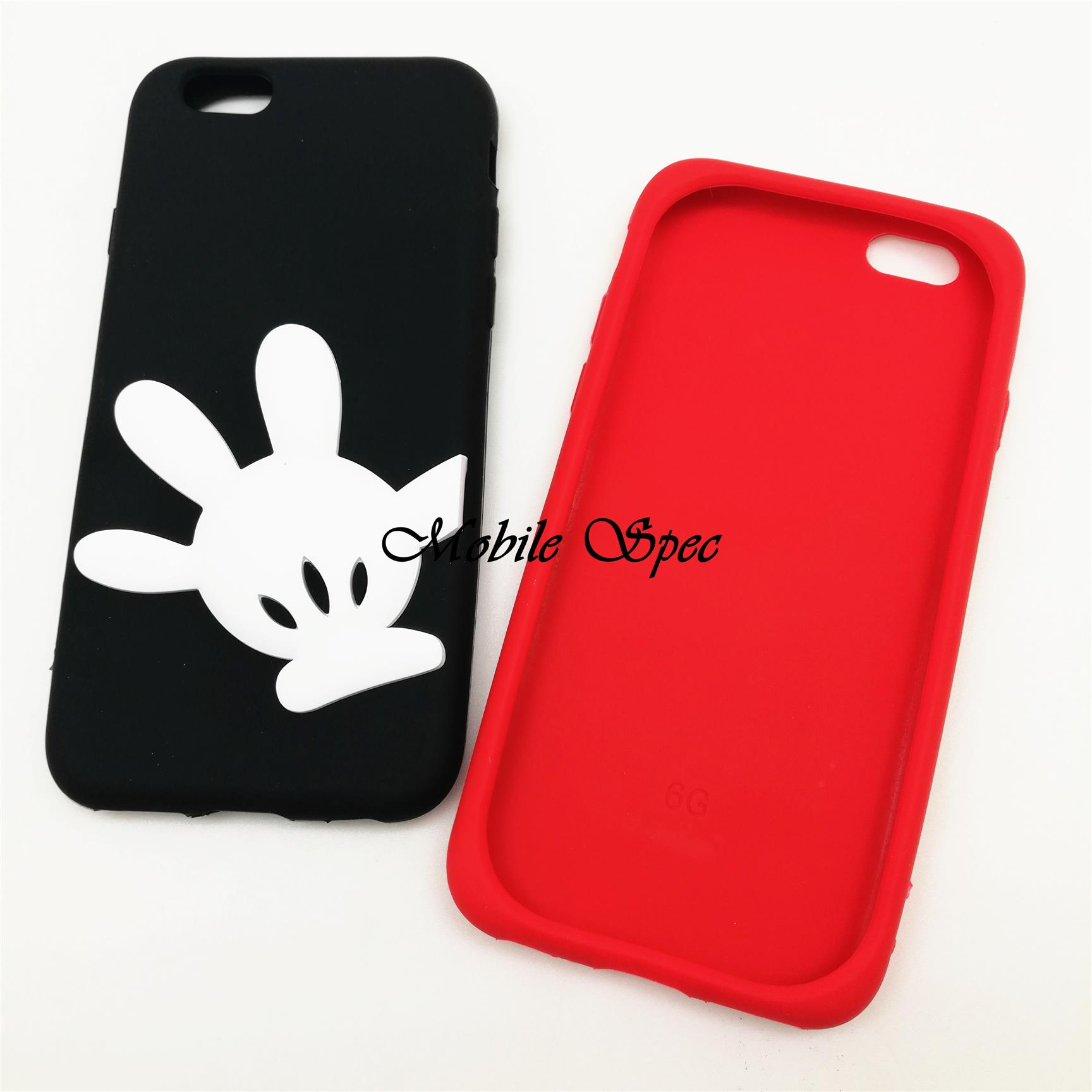 promo code b0dc3 0b283 Apple IPhone 6 6s 7 8 Plus X Minnie Mickey Mouse Soft Rubber Case