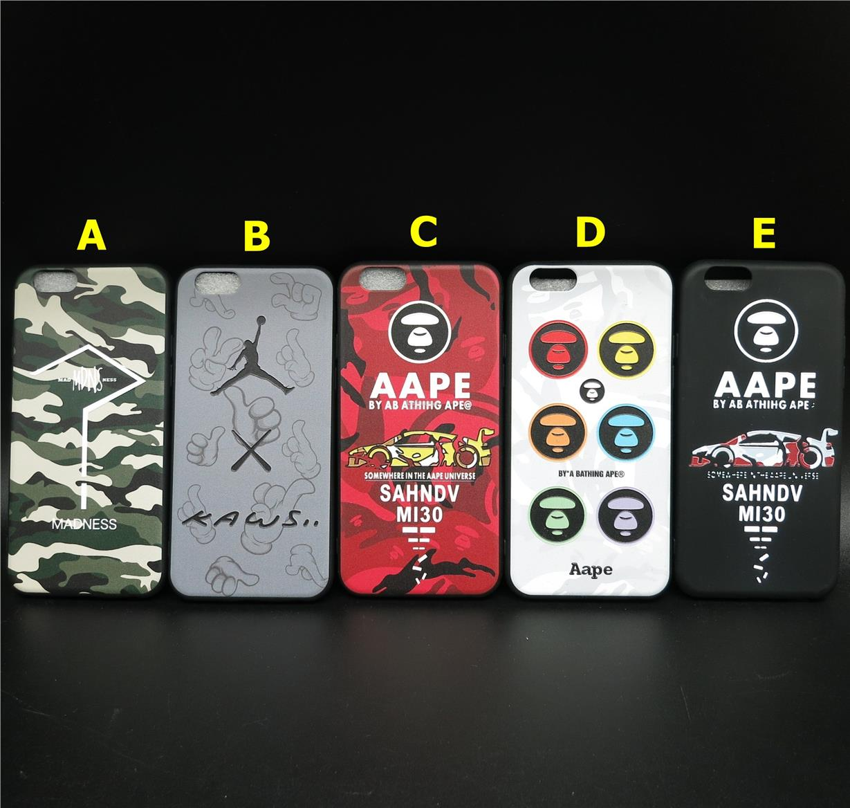 quality design e5763 e424d APPLE IPHONE 6 6S SILICONE SOFT TPU APPE ARMY SUPREME CASE