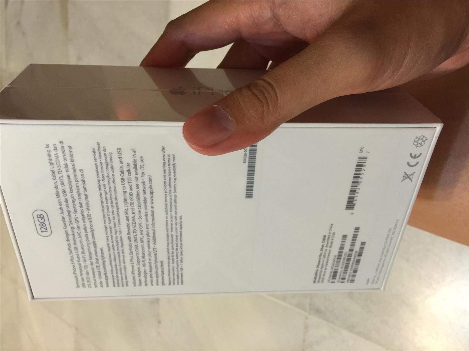 iphone 6 silver box. apple iphone 6 plus 128gb silver brand new malaysia iphone box