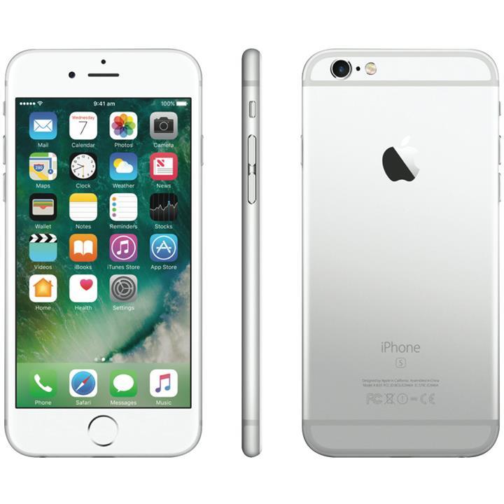 רק החוצה USED - Apple iPhone 6S 64GB ( SILVE (end 11/14/2018 9:15 PM) UA-67