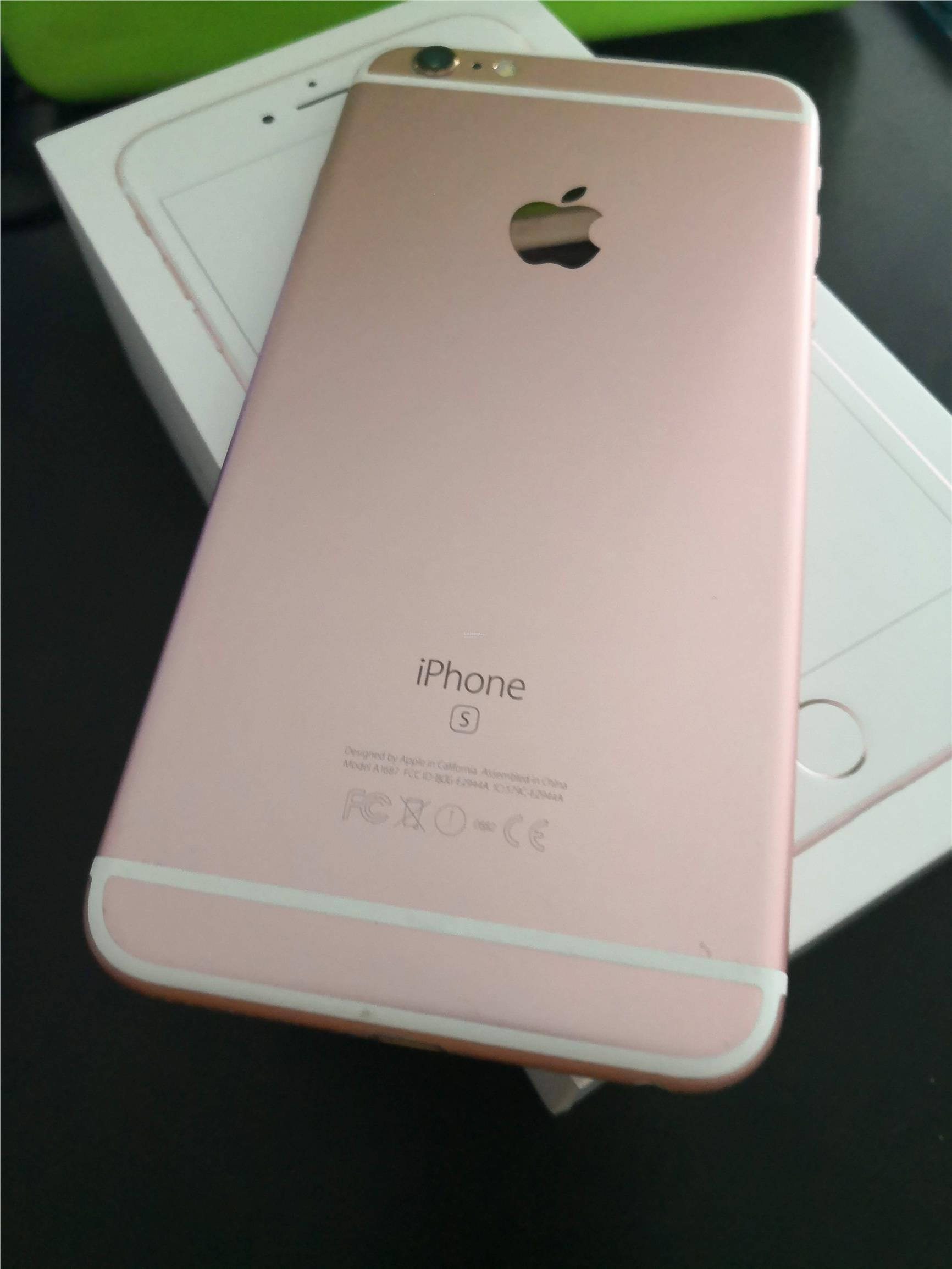 brand new 57f41 159c2 Apple iphone 6S Plus 128bg (pink colour)