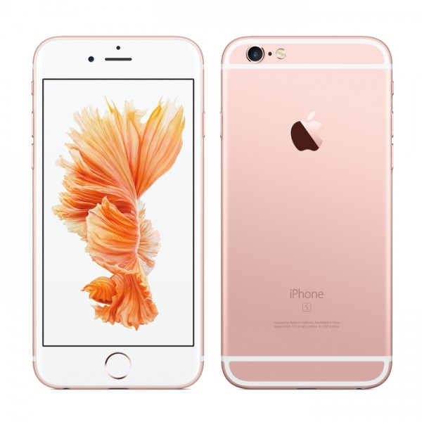 apple iphone 6s rose gold. apple iphone 6s smartphone (128gb, rose gold, warranty) iphone gold