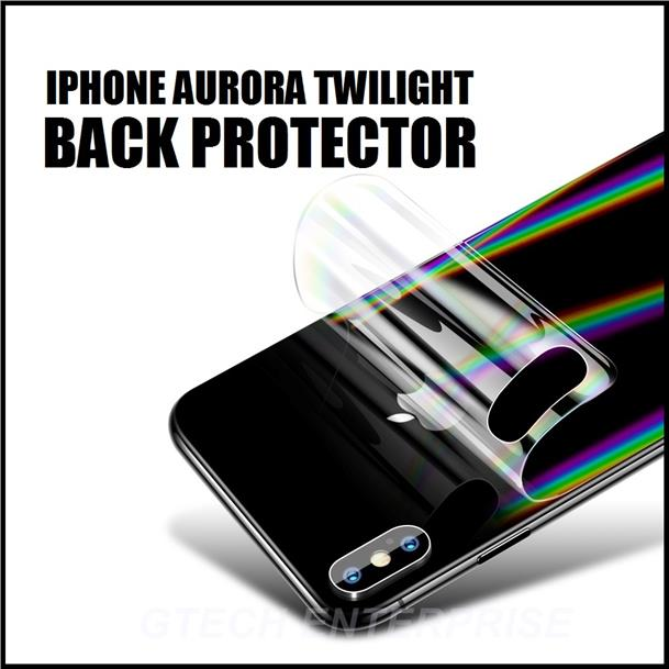 Apple Iphone 7 8 Plus IPX X XR XS Max AURORA Twilight Back Protector