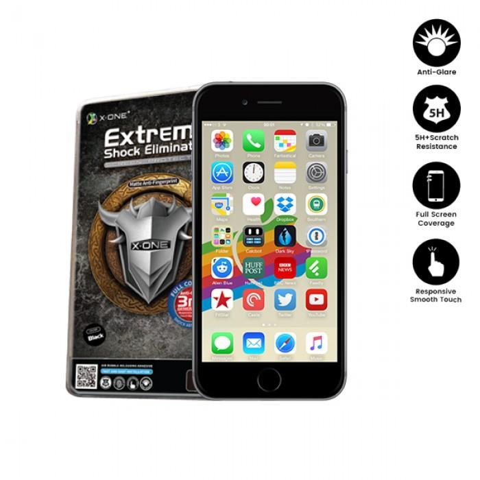 sports shoes 43cac e90f4 APPLE IPHONE 7 / IPHONE 8 FULL COVERAGE MATTE FILM SCREEN PROTECTOR
