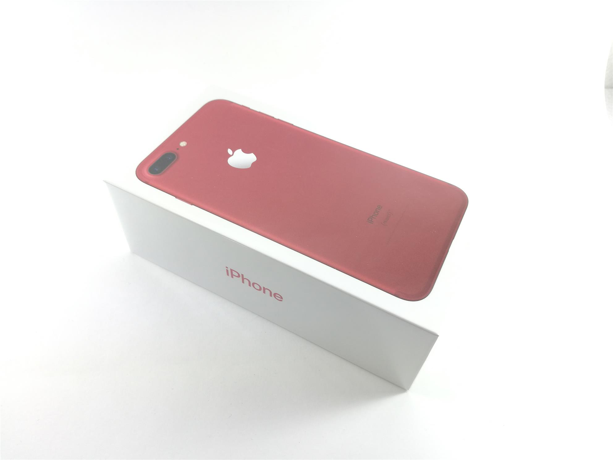 APPLE IPHONE 7 PLUS / 128GB / RED EDITION / SET BARU / MY SET