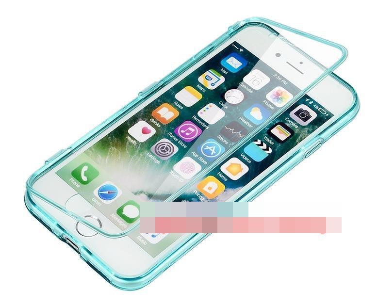 release date: e7612 b77a5 Apple iPhone 7 / Plus Flip Transparent 360 Armor Case Cover Casing
