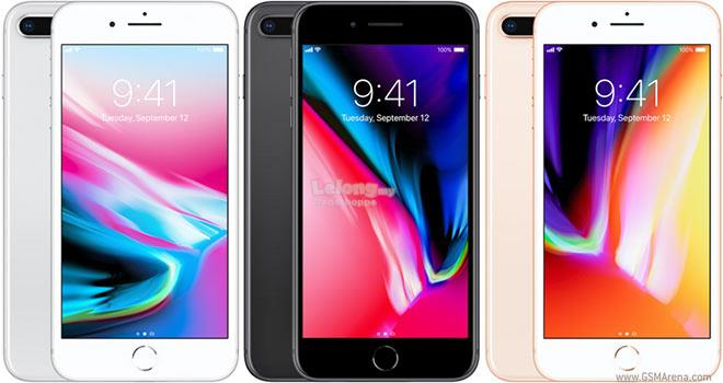 Apple iPhone 8 Plus 8+ 64GB 256GB, Local Malaysia set 1 year warranty