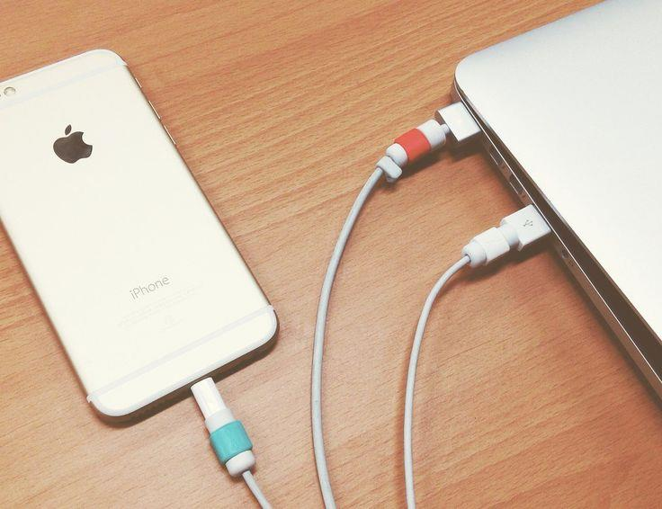 competitive price c98d1 d3fb5 Apple IPhone IPad USB Data Saver Lightning Saver/ Protector Cord Cable