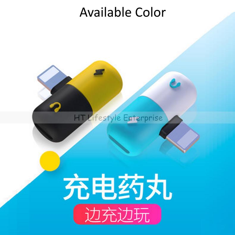 Apple iPhone Mini Capsule Lightning 1 To 2 Splitter