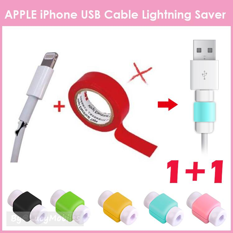 515bdc43756f15 APPLE iPhone USB Cable Data Lightning Saver Cord Clip iPhone6s 7 Plus. ‹ ›