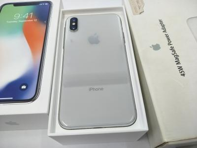APPLE IPHONE X 256GB SILVER WHITE SELLING RM4188