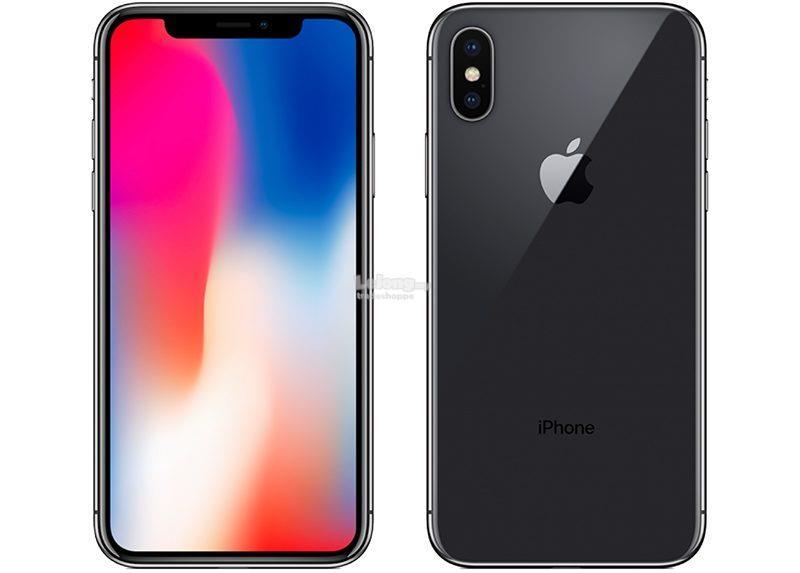 Apple iPhone X 64GB, 256GB - SG Set 1 year international warranty