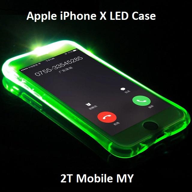 purchase cheap 242e3 96ecc Apple IPhone X LED Light Phone Case (end 5/21/2020 4:57 PM)