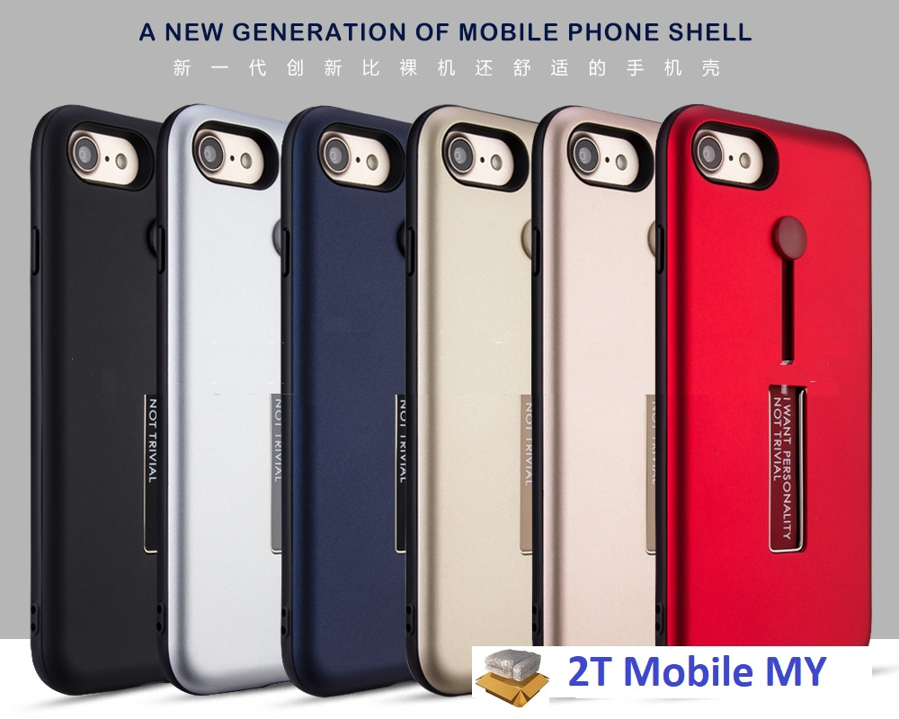 huge discount 3b798 120ea Apple IPhone X Rugged Ring Holder Case Shockproof Bumper Ring Finger C