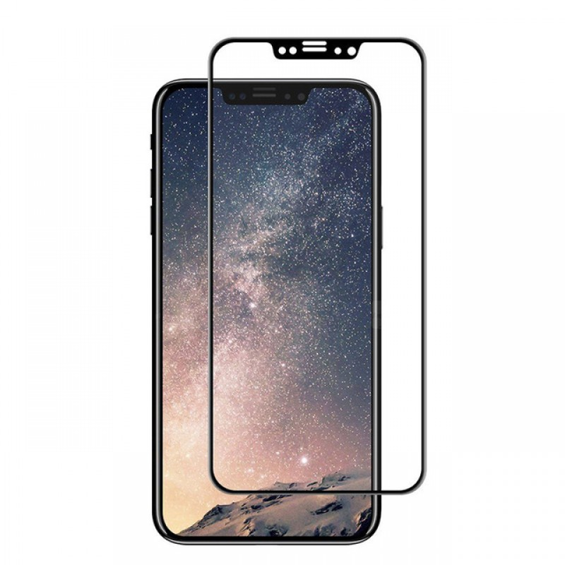 the latest 7c701 e6a60 APPLE IPHONE X TEMPERED GLASS SCREEN PROTECTOR - BLACK