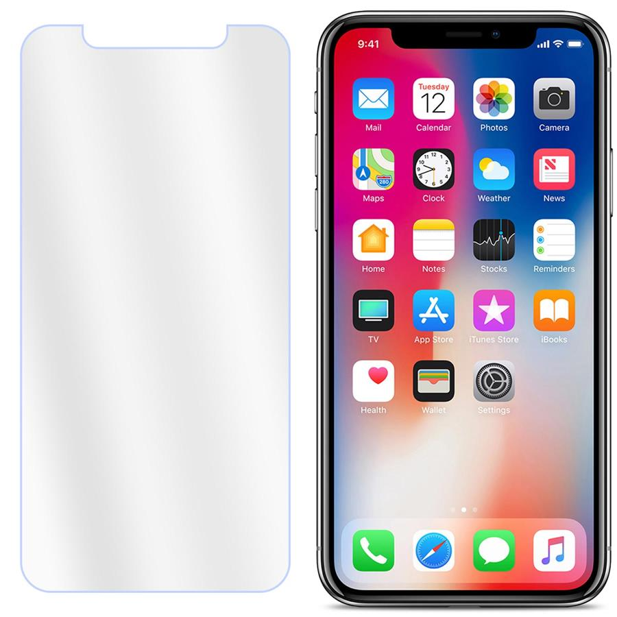 finest selection f9600 de359 APPLE iPhone X Tempered Glass Screen Protector