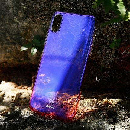 Apple iPhone X ultra thin phone protection case casing cover hard