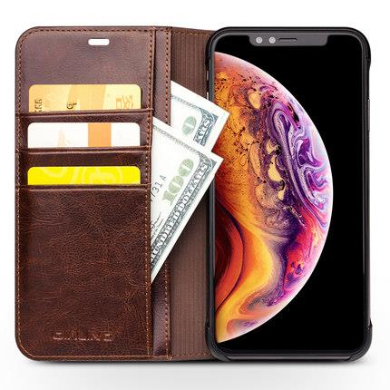 Apple iPhone X/XR/XS/XS MAX flip leather phone protection casing cover