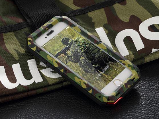 buy popular d9d00 738e4 APPLE IPHONE X XS 7 8 PLUS 4 4S 5 5S LUNATIK ARMY PROTECTION Case