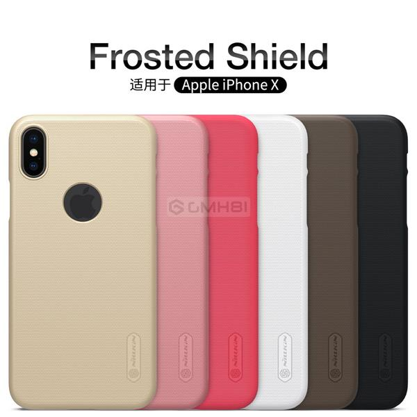 innovative design a5b58 e5232 Apple iPhone X XS Max XR Nillkin Super FROSTED Hard Back PC Cover Case