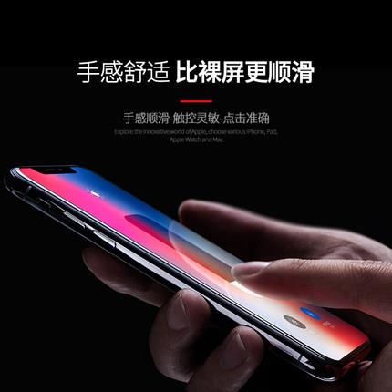 Apple iPhone X/XS/XS MAX screen protector film tempered glass full