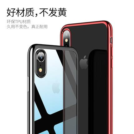 Apple iPhone XR 6.1 transparent phone protection case casing cover